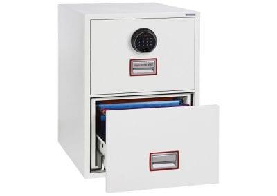 Tick Solutions 2 Drawer Filing Cabinet Safe