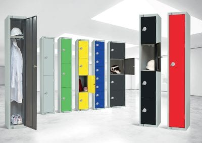 Tick Solutions Coloured Lockers