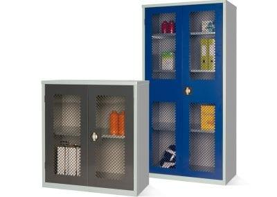 Tick Solutions Mesh Door Steel Storage Cabinets