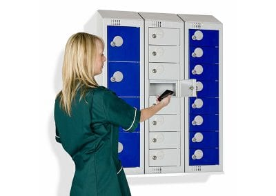 Tick Solutions Personal Effects Lockers