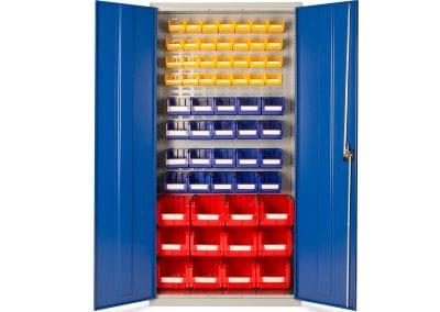 Tick Solutions Steel Storage Cabinet with storage bins