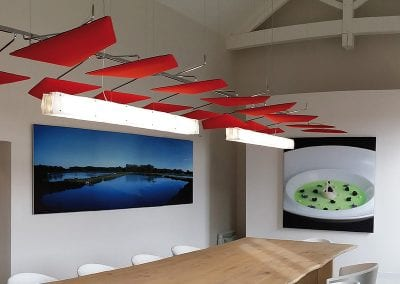 Tick Solutions Acoustic Screens - Board Room