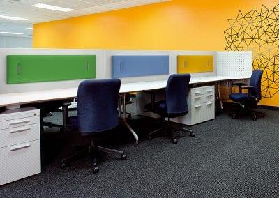 Tick Solutions Acoustic Screens - Desk Divider