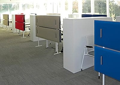 Tick Solutions Acoustic Screens - Freestanding #2