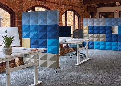 Tick Solutions Acoustic Screens - Room Dividers