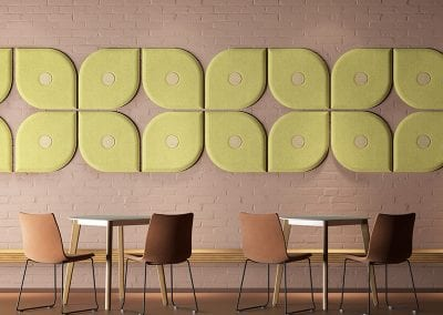 Tick Solutions Acoustic Screens - Shaped