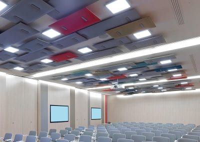 Tick Solutions Acoustic Screens - Suspended Ceiling
