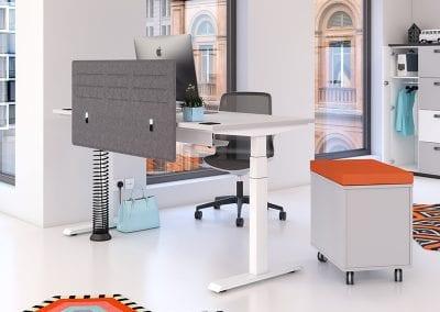 Tick Solutions Desk Top Screens - Modern Designer