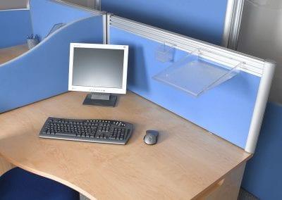 Tick Solutions Desk Top Screens - Multi-purpose